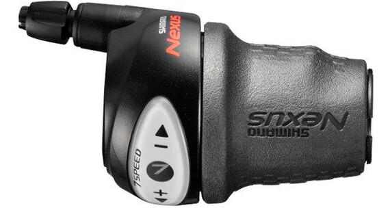 Shimano Nexus SL-7S31 Klamkomanetka prawe 7-prędkości do CJ-NX10 czarny